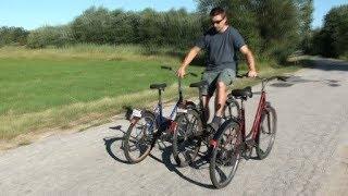 Jazda na trzech rowerach