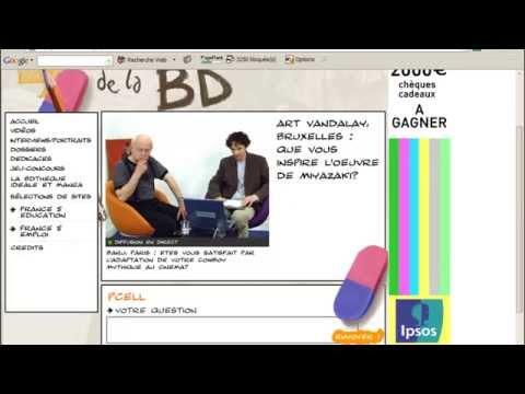 Interview web vidéo : Moebius Jean Giraud 2005