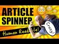 Article Spinner - New Article Spinner Creates Readable Articles That Rank On Google