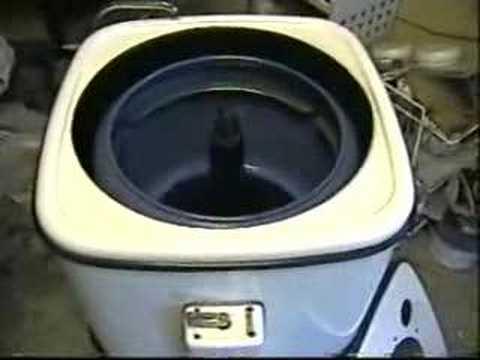 Thor Automagic 1960s SemiAutomatic Washing Machine  YouTube