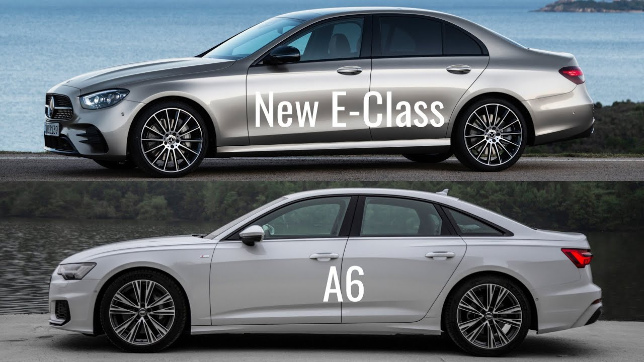 5 Mercedes E-Class vs Audi A5 Sedan