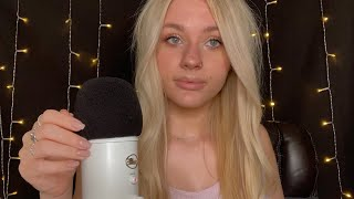 ASMR| Close Whispering- Trying the Accent Tag🏷