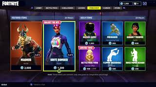 OLD ASSAULT TROOPER SKIN IS BACK! + MAGNUS AND BRITE SKINS IN FORTNITE ITEM SHOP