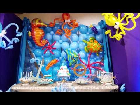 Under The Sea Theme Party Decor