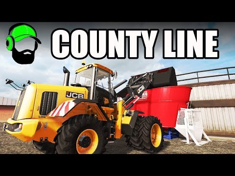 Farming Simulator 17 -County Line - Time to fire up the BGA #FS17