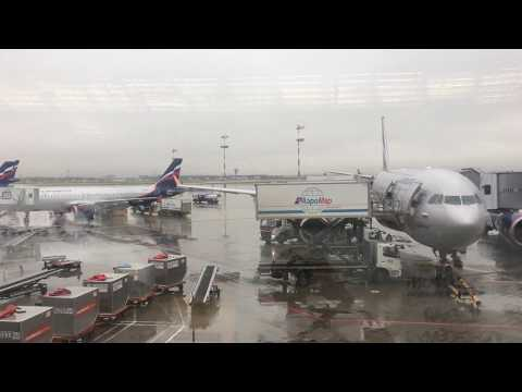 Полет Москва-Майами на самолете AIRBUS A330 FLIGHT MOSCOW-MI