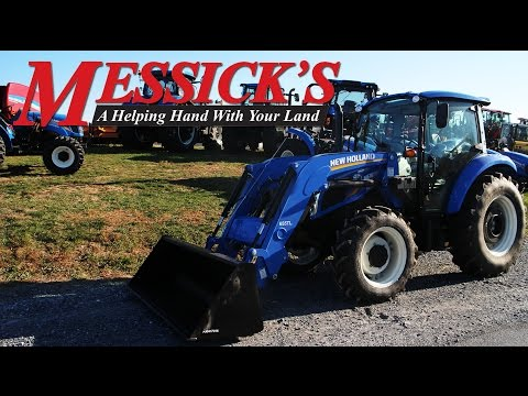 New Holland T4 75 Powerstar Product Review and walk around