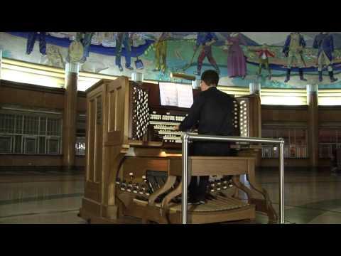 4.24.12 Frederic Champion Organ Performance at Cincinnati Museum Center