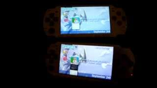 PSP 2000 VS PSP 3000 Video Test!