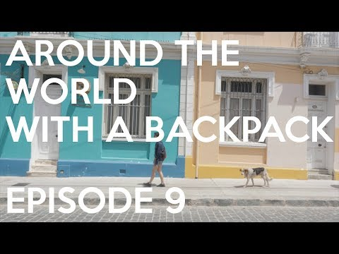 A Unique Tour Guide in Valparaíso  - A Year Around The World With A Backpack – Ep 9 Nathan and PK