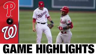 Phillies vs. Nationals Game Highlights (8/3/21)