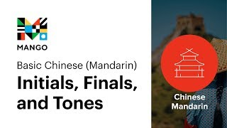 What You Need to Know About Initials, Finals, and Tones - Basic Chinese Mandarin Ep.1