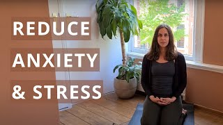 Breathing Exercise for Anxiety and Stress