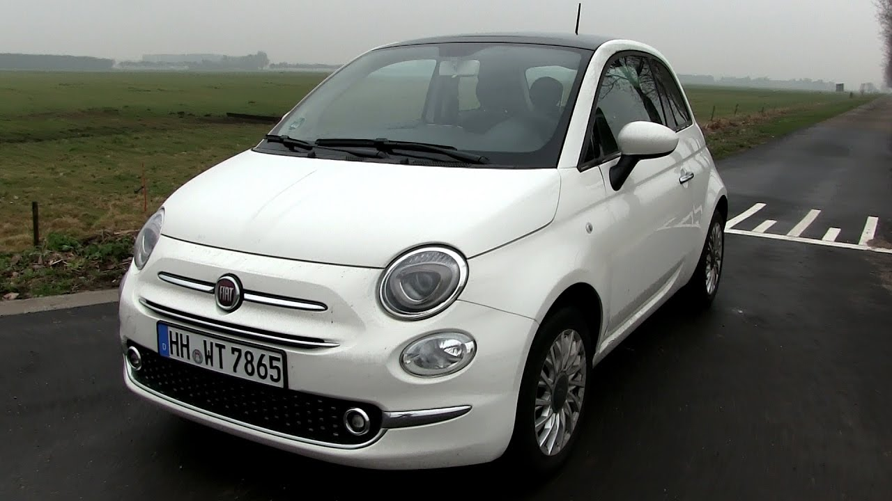2016 fiat 500 1 2 8v 69 hp test drive youtube. Black Bedroom Furniture Sets. Home Design Ideas