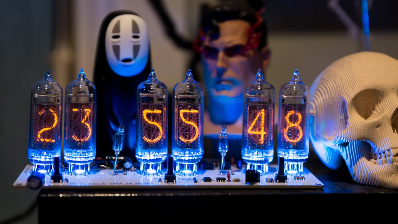Show And Tell Nixie Tube Clock