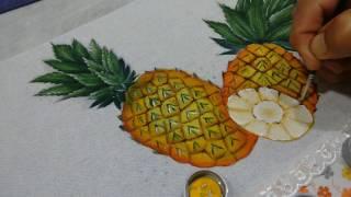 Roberto Ferreira – Como pintar Abacaxi