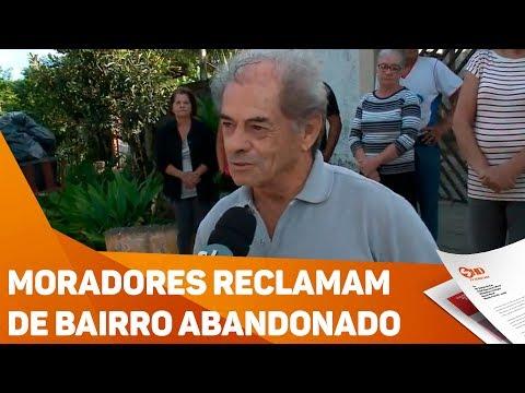 Moradores reclamam de bairro abandonado - TV SOROCABA/SBT