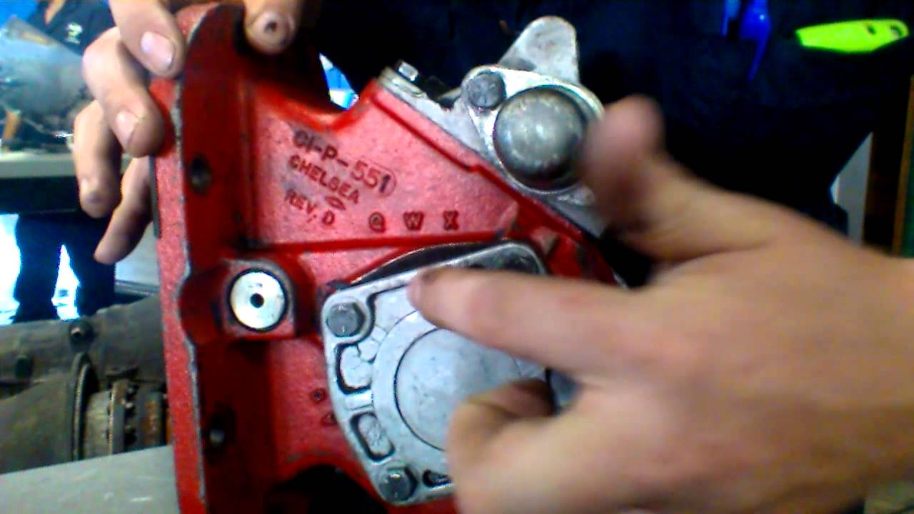 Pto Pump From Allison Transmisson Youtube 2015 F350 Wiring Diagram