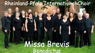 Mozart - Missa Brevis KV258 - 5 Benedictus - Rheinland-Pfalz International Choir