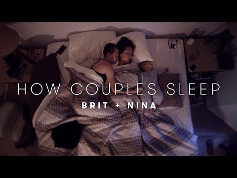 Brit & Nina's Story | How Couples Sleep