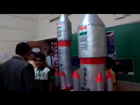Science Exhibition Presentation about PSLV GSLV ISRO by Siddharth Kishore 5th Class Delhi Public Sch
