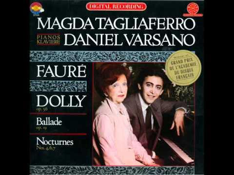 Magda Tagliaferro - Fauré Dolly Suite Op. 56