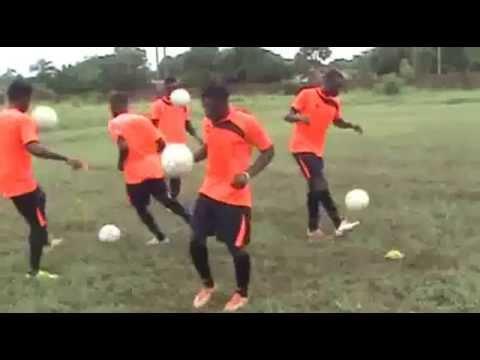 Nwaudo Foundation Football Academy Training