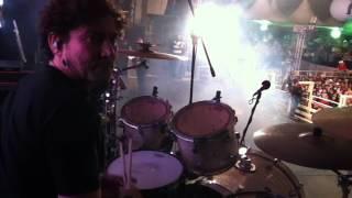 Nana Correa (baterista) - Trecho do Show com a dupla Edson e Hudson