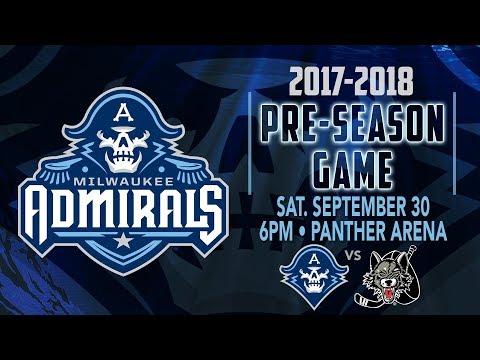 Admirals vs. Wolves Pre-Season Game
