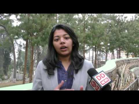 Prachi Modi from IIM Shillong on DD News