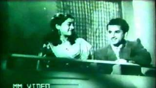 Shamshad Begum & Mukesh: Humse Nain Milana (Aankhen - 1950) - Original Film Version