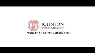 Johnson at Cornell University MBA programs: do you fit?