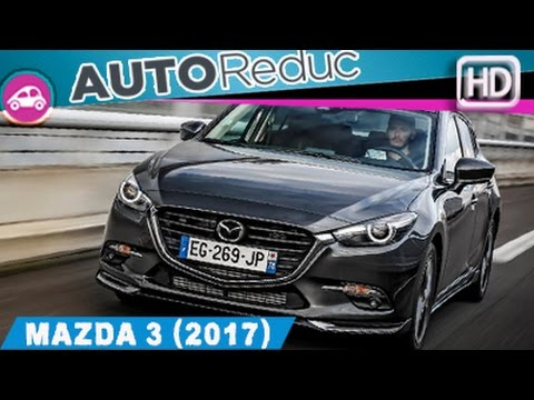 2017 essai la nouvelle mazda 3 premi re impression autoreduc tv youtube. Black Bedroom Furniture Sets. Home Design Ideas