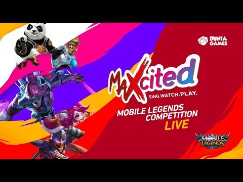 MAXcited 2017: Mobile Legends Competition Day 1 - Bandung