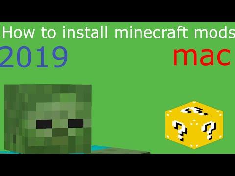 How To Install Minecraft Mods (MAC) (2019) #minecraftmods #tutorial #Mac