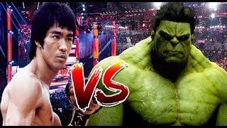 Bruce Lee vs Hulk