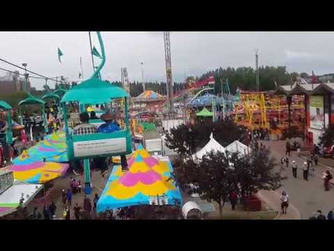 Calgary Stampede Ground Sky Ride 2016