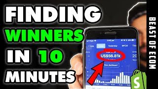[NEW] Finding $50K Products In 10 Minutes HACK | Shopify Dropshipping