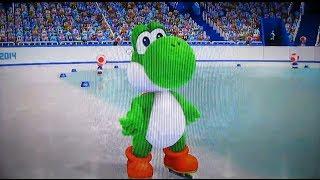 Mario & Sonic Sochi 2014 #13-Patinaje velocidad/Speed Skating