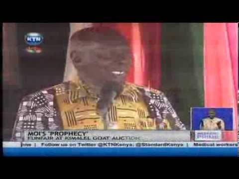 Former president Daniel Arap Moi speaks of Uhuru Kenyatta's presidency