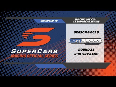 iRacing Official V8 Supercar Series   Round 11   Phillip Island