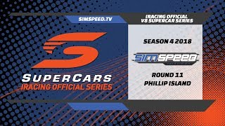 iRacing Official V8 Supercar Series | Round 11 | Phillip Island