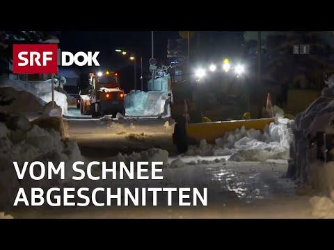 Der grosse Schnee: Zermatt schaufelt sich frei   Reportage   SRF DOK