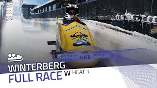 Winterberg | BMW IBSF World Cup 2017/2018 - Women's Bobsleigh Heat 1 | IBSF Official