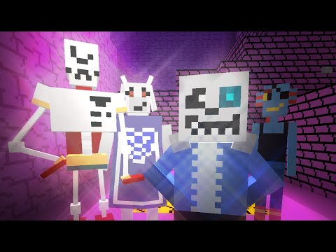 Minecraft: UNDERTALE Mod Showcase!