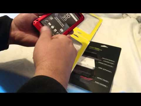 Unboxing Love Mei Case For Sony Xperia Z5 Premium