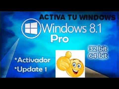 windows 8.1 pro 32 bits activador