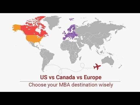 An MBA  In The US, Europe And Canada