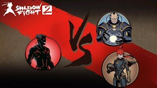 Evil Shadow Vs May And Titan Shadow fight 2