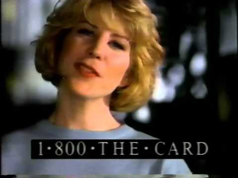 American Express Credit Card 1993 Commercial